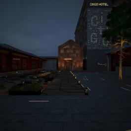 北京南锣鼓巷CitiGO酒店(原北京星海琪假日酒店)360全景图